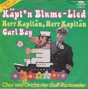Cover - Carl Bay: Käpt'n Blume-Lied