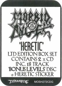 Morbid Angel: Heretic (2-CD) - Bild 3