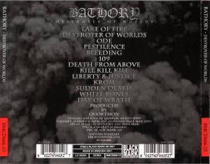 Bathory: Destroyer Of Worlds (CD) - Bild 2