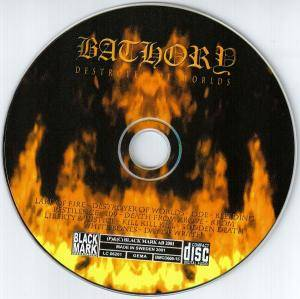 Bathory: Destroyer Of Worlds (CD) - Bild 3