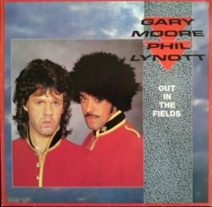 "Gary Moore & Phil Lynott: Out In The Fields (12"") - Bild 1"
