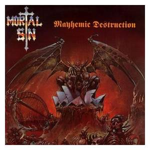 Mortal Sin: Mayhemic Destruction - Cover