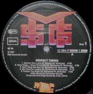 McAuley Schenker Group: Perfect Timing (LP) - Bild 3