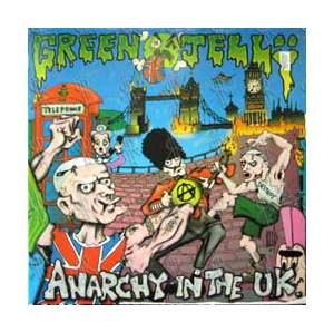 Green Jellÿ: Anarchy In The U.K. - Cover