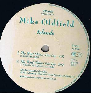 Mike Oldfield: Islands (LP) - Bild 6