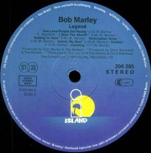 Bob Marley & The Wailers: Legend - The Best Of Bob Marley And The Wailers (LP) - Bild 4