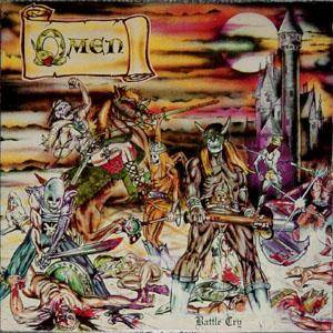 Omen: Battle Cry - Cover