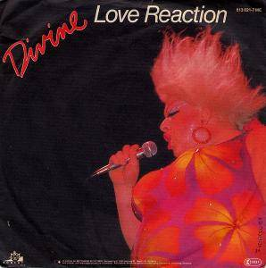 Divine: Love Reaction - Cover