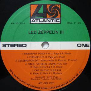 Led Zeppelin: III (LP) - Bild 5