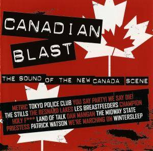 Cover - Dan Mangan: Canadian Blast: The Sound Of The New Canada Scene