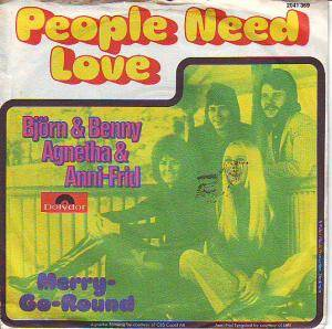 Cover - Björn & Benny, Agnetha & Anni-Frid: People Need Love