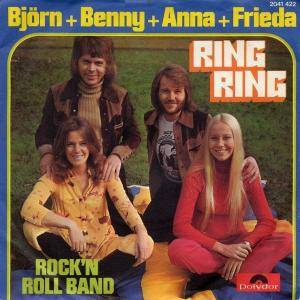Björn & Benny, Anna & Frida: Ring Ring - Cover