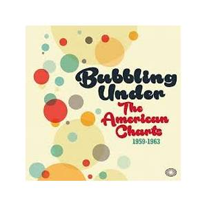 Cover - Sue Raney: Bubbling Under - The American Charts 1959-1963