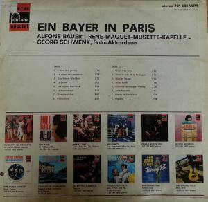 Cover - Alfons Bauer: Ein Bayer In Paris