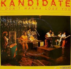 Cover - Kandidate: I Don't Wanna Lose You