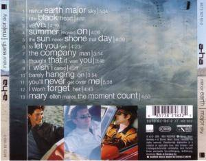a-ha: Minor Earth | Major Sky (CD) - Bild 3