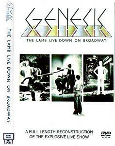 Genesis: The Lamb Live Down On Broadway - DVD-R, Bootleg
