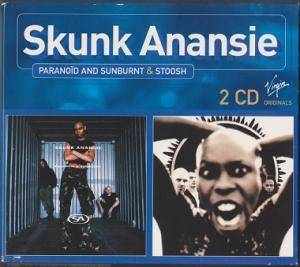 Skunk Anansie: Paranoid And Sunburnt / Stoosh - Cover