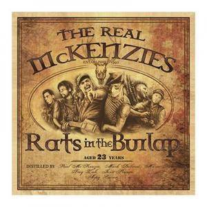 The Real McKenzies: Rats In The Burlap - Cover