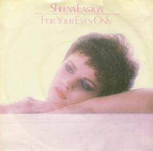 Sheena Easton: For Your Eyes Only - Cover