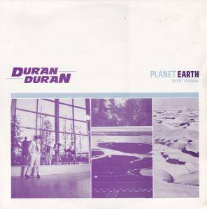 Duran Duran: Planet Earth - Cover