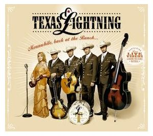 Texas Lightning: Meanwhile, Back At The Ranch... - Cover