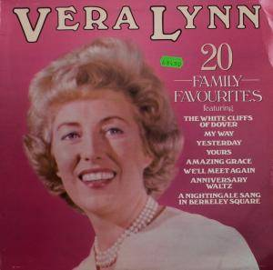 Cover - Vera Lynn: 20 Family Favourites