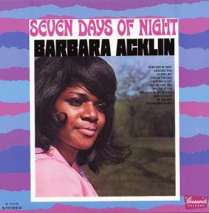 Cover - Barbara Acklin: Seven Days Of Night