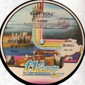 Cover - Kasso: Baby Doll