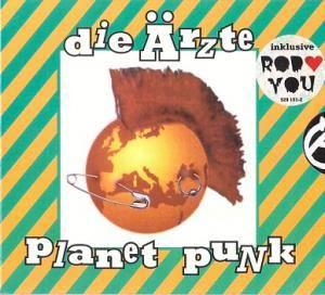 Die Ärzte: Planet Punk (CD) - Bild 1