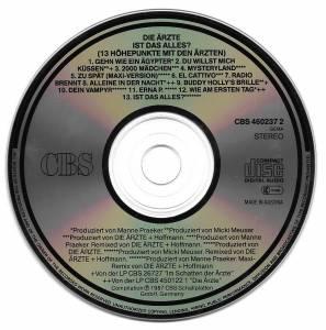 Die Ärzte: Ist Das Alles? (13 Höhepunkte Mit Den Ärzten) (CD) - Bild 4