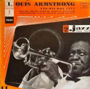 Cover - Louis Armstrong & His Hot Five: Jazz Pour Tous – N° 11