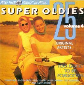 Cover - Robert Parker: 25 Super Oldies - Volume 4