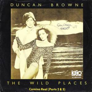 Cover - Duncan Browne: Wild Places, The