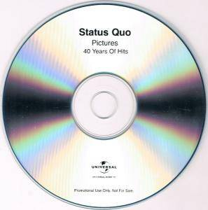 Status Quo: Pictures - 40 Years Of Hits (2-Promo-CD-R) - Bild 4