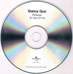 Status Quo: Pictures - 40 Years Of Hits (2-Promo-CD-R) - Bild 5