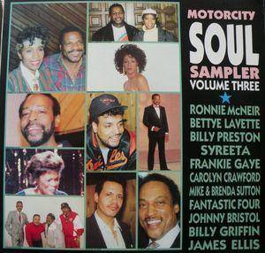 Cover - Mike And Brenda Sutton: Motorcity Soul Sampler Volume Three