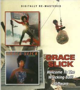 Cover - Grace Slick: Welcome To The Wrecking Ball! / Software