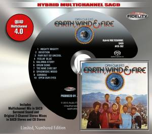 Earth, Wind & Fire: Open Our Eyes (SACD) - Bild 1