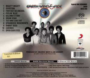 Earth, Wind & Fire: Open Our Eyes (SACD) - Bild 2