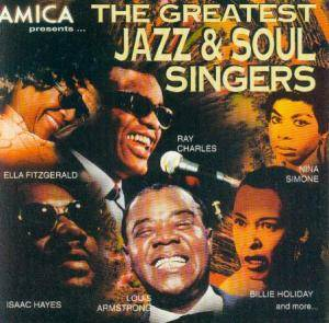 Greatest Jazz & Soul Singers, The - Cover
