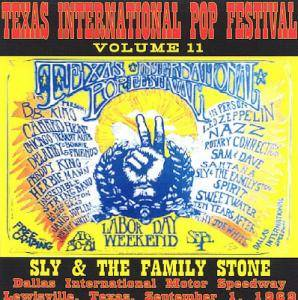 Cover - Sly & The Family Stone: Texas International Pop Festival Vol. 11