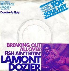 Cover - Lamont Dozier: Breaking Out All Over/ Fish Ain't Bitin'