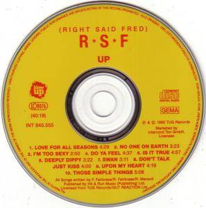 Right Said Fred: Up (CD) - Bild 2