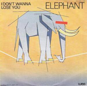 Cover - Elephant: I Don't Wanna Lose You