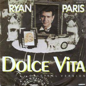 Ryan Paris: Dolce Vita - Cover