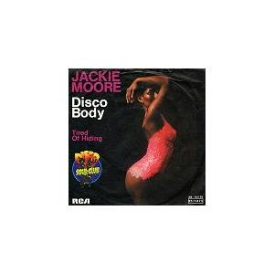 Cover - Jackie Moore: Disco Body