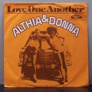 Cover - Althea & Donna: Love One Another