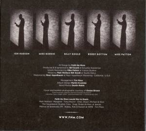 Faith No More: Sol Invictus (CD) - Bild 4