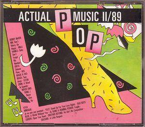 Cover - Channel 5: Actual Pop Music II/89
